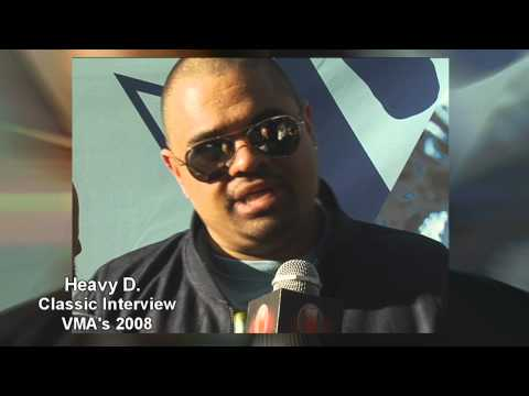 Heavy D last Interview at the VMA's