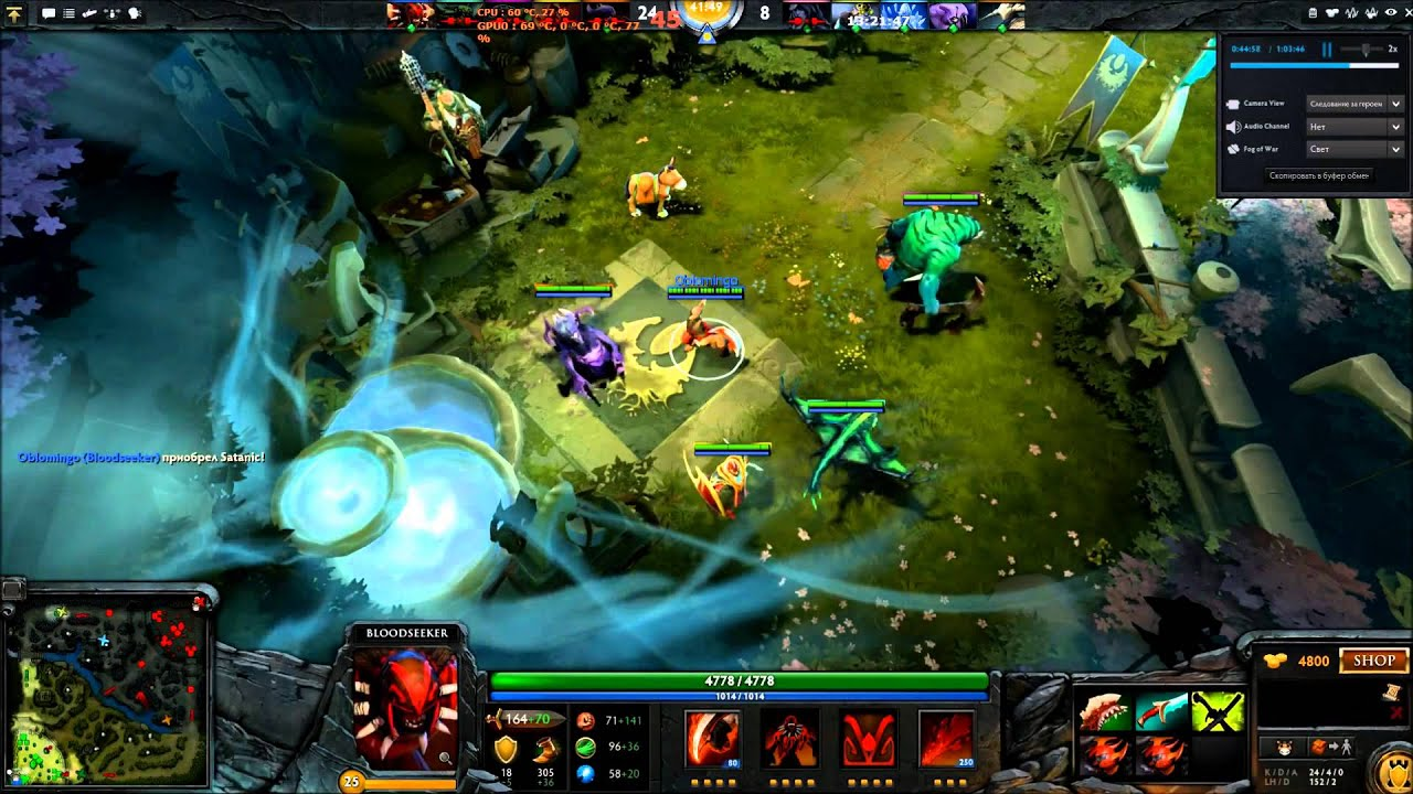 dota 2 bloodseeker 1 vs 5 epic def youtube