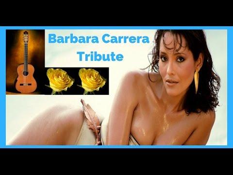 BARBARA CARRERA ACTRESS James Bond Dallas TRIBUTE FLAMENCO GUITAR