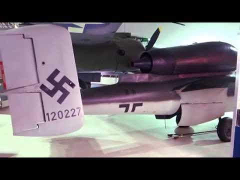 HD Heinkel He 162 Volksjäger jet fighter German Luftwaffe WW2