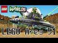 Building LEGO Area 51