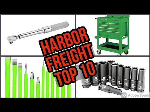 Harbor Freight Top 10 Tools