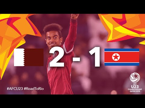 QATAR vs DPR KOREA: AFC U23 Championship 2016 (Quarter Final)