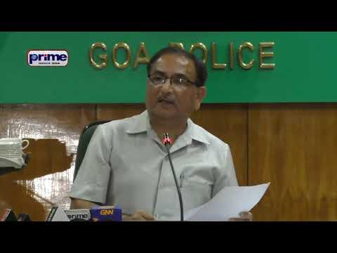 TRAFFIC SENTINAL  SCHEME TO PREVENT ACCIDENTS   DGP GOA      गोंय पुलिसांची आगळी 'ट्रॅफिक सॅन्टिनल'