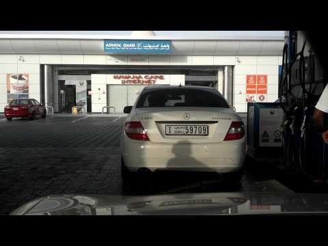 Driving from Dubai to Abu Dhabi (Time Lapsed)