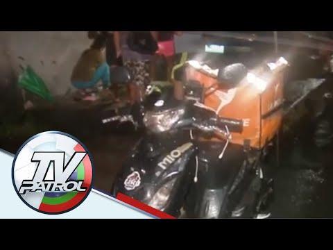 Delivery service rider patay sa pamamaril sa QC | TV Patrol