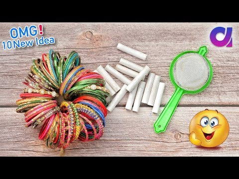 10 Amazing Best out of waste Craft Ideas to make in 5 minutes | Artkala