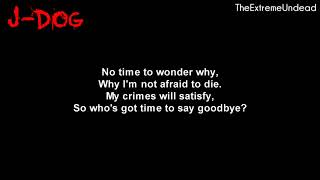 Video Hollywood Undead - Bang Bang [Lyrics Video] download MP3, 3GP, MP4, WEBM, AVI, FLV Oktober 2018