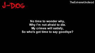 Video Hollywood Undead - Bang Bang [Lyrics Video] download MP3, 3GP, MP4, WEBM, AVI, FLV November 2018