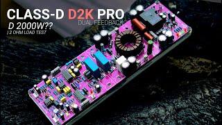 Class-D Amplifier D2K Pro Dual Feedback