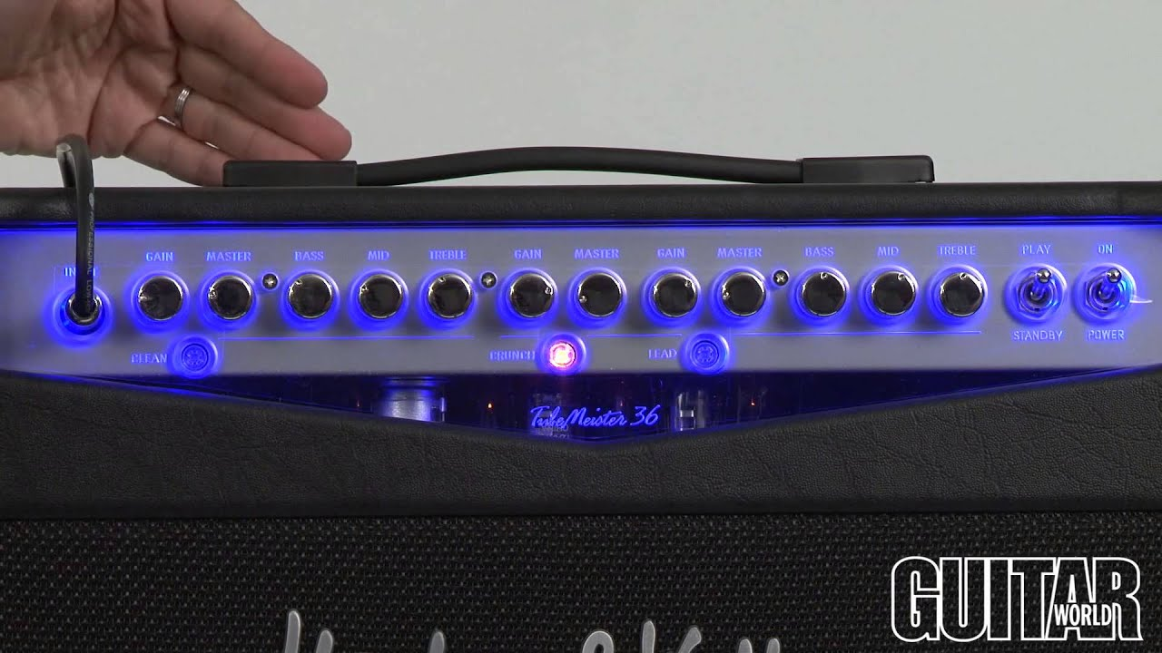 hughes kettner tubemeister 36 combo amplifier youtube. Black Bedroom Furniture Sets. Home Design Ideas