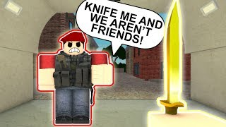 ARSENAL ON ROBLOX RUINS FRIENDSHIPS!