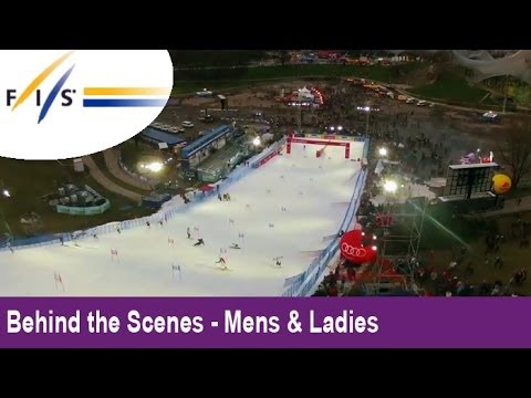 Slalom Skiing in Munich! Audi FIS Ski World Cup 2012 - Behind the Scenes - Mens & Womens