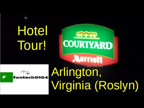 Hotel Tour: Courtyard By Marriott Hotel (Roslyn Location) - Arlington, Virginia