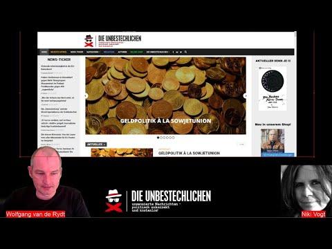 Freie deutsche Presse News mit Niki Vogt und Wolfgang van de Rydt