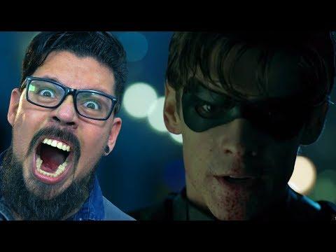REACT TRAILER TITANS! F**A-SE O BATMAN!