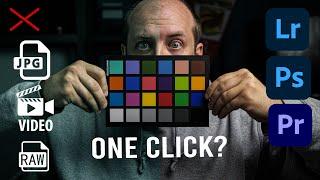 Fix Basic White Balance Problems with One Click | Lightroom Photoshop Premiere Pro | SpyderCHECKR 24