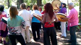 DRUM HEALING FOR THE EARTH  (Tambores de curación para la Tierra)