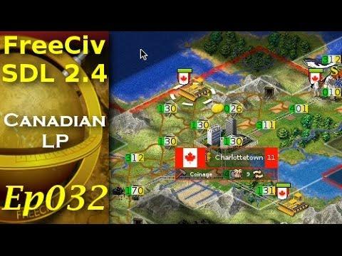FreeCiv 2.4.0 [SDL Client] Canadian LP - Ep032