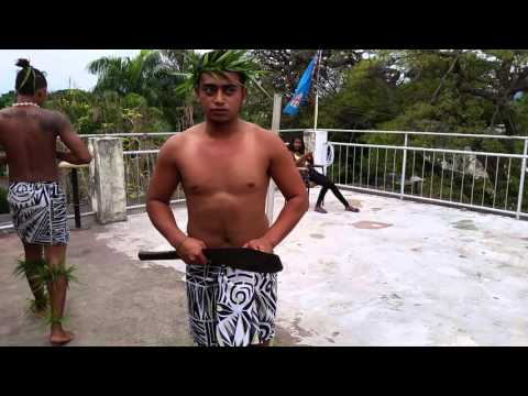 Rotuma knife dance
