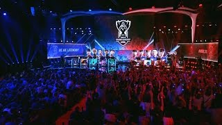 LGD vs KT - French Crowd Doing The Wave | League of Legends World Championship 2015