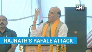 'Congress objected to Om on Rafale': Rajnath Singh's charge | Haryana polls