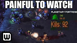 BRONZE LEAGUE BUYOUT | PAINFUL TURTLE TERRAN (Kybrit vs thedeadlord)