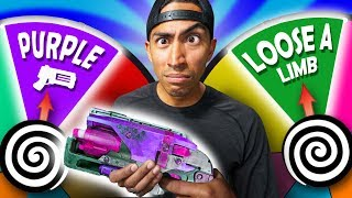 NERF Hangman Roulette | Dual Duel Challenge!
