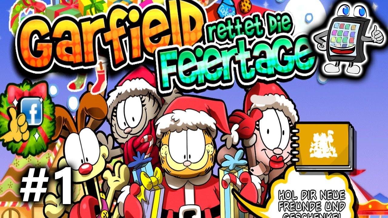 GARFIELD rettet die FEIERTAGE App deutsch | WEIHNACHTEN unter ...