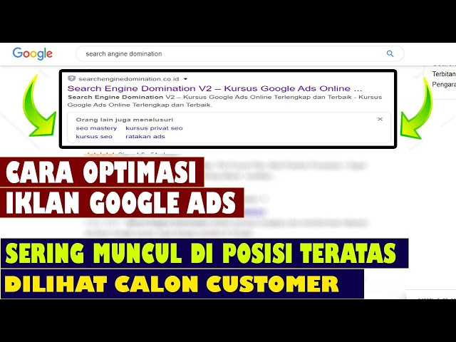 Cara Optimasi Iklan Google Ads Youtube