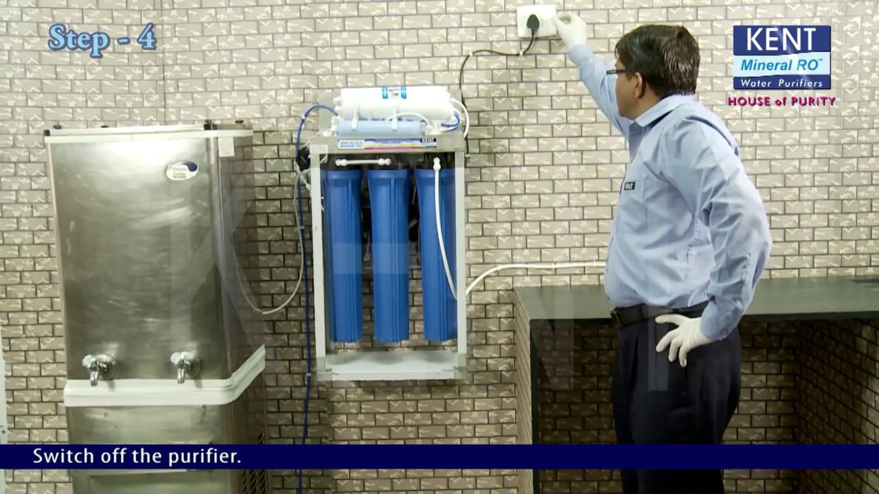 Ro Uf Tds Water Purifier How To Install Guide Kent Elite