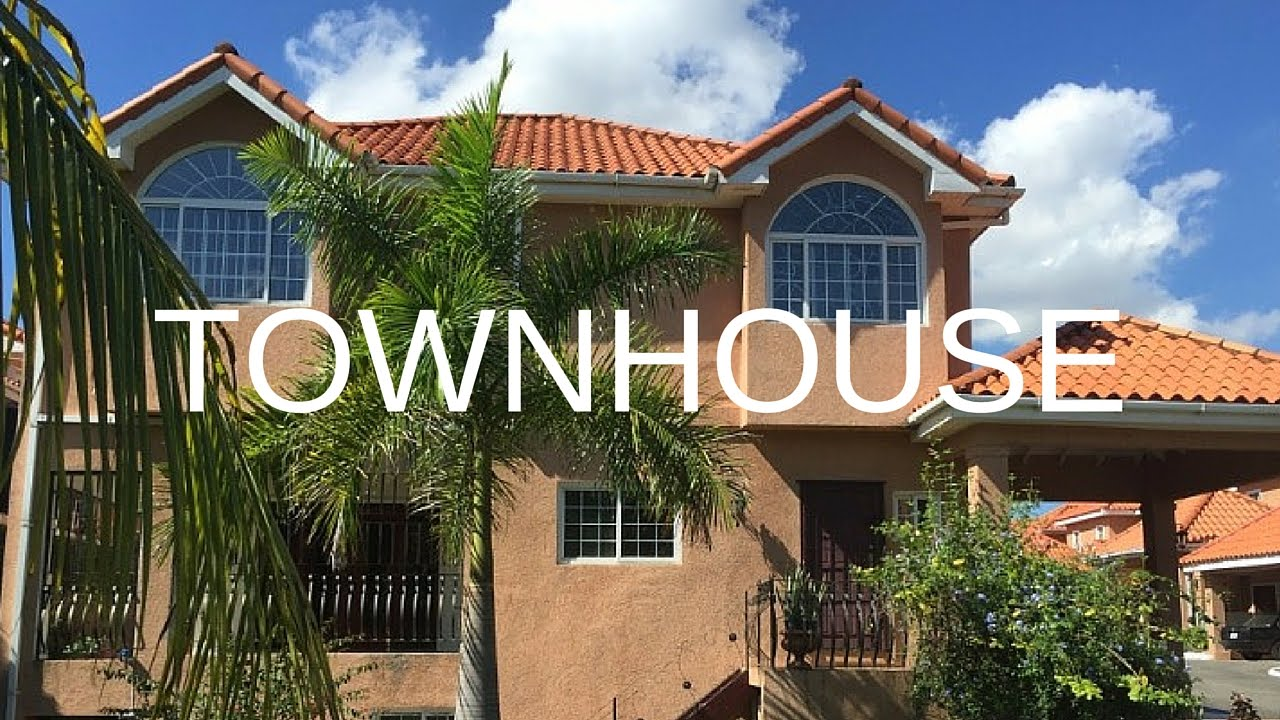 homes for rent - town house kingston & st. andrew, kingston 6