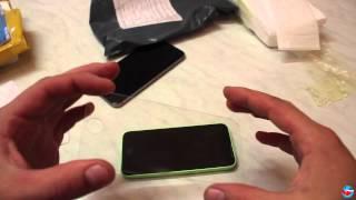 Обзор # 06: Защитные стекла для iPhone 5C и iPhone 6 (Aliexpress)(Ссылки на товар в обзоре: Стекло для iPhone 5C: ..., 2015-09-17T19:47:01.000Z)