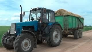 Трактор в поле дыр-дыр-дыр)