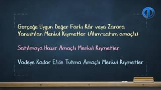 GENEL MUHASEBE I - Ünite 7 Konu Anlatımı 1