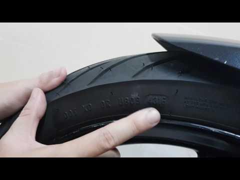 Biker Tập Sự 1.1 - Thông Số In Trên Lốp Xe