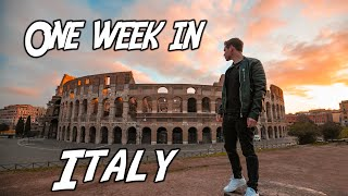 ITALY TRAVEL GUIDE: How to see Italy in 7 Days! (2019)