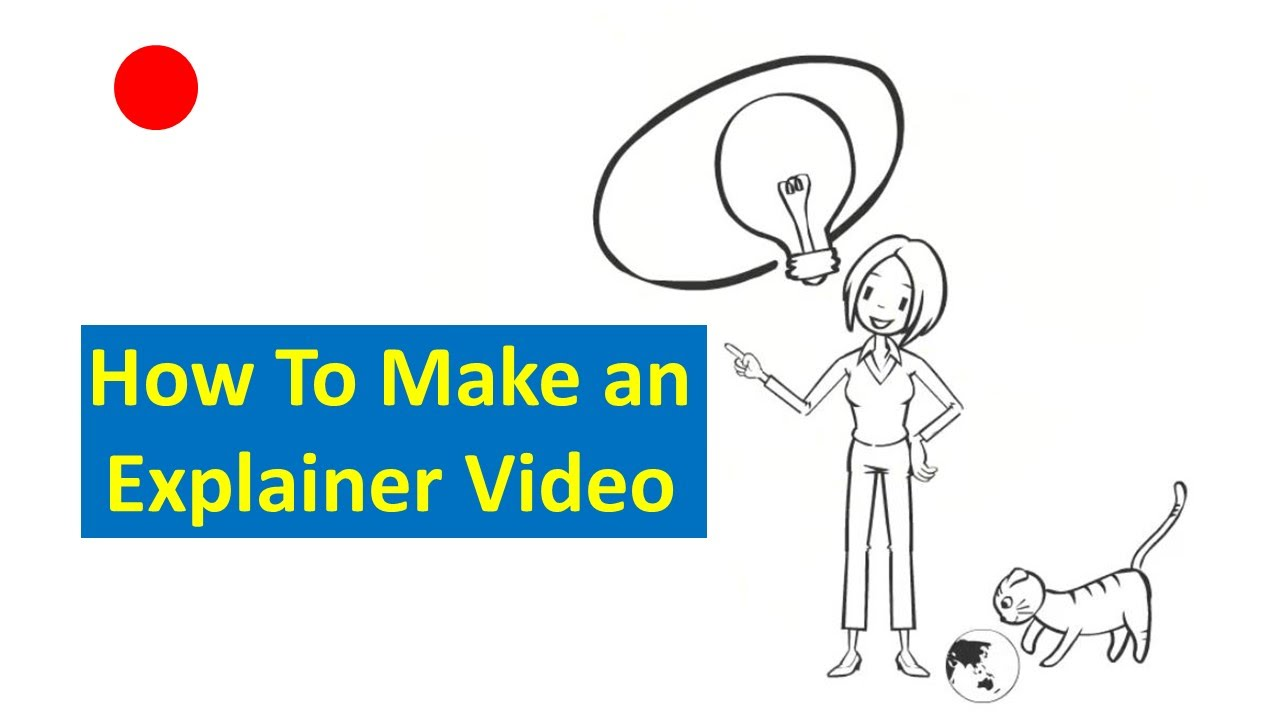 How to Make an Explainer Video - YouTube