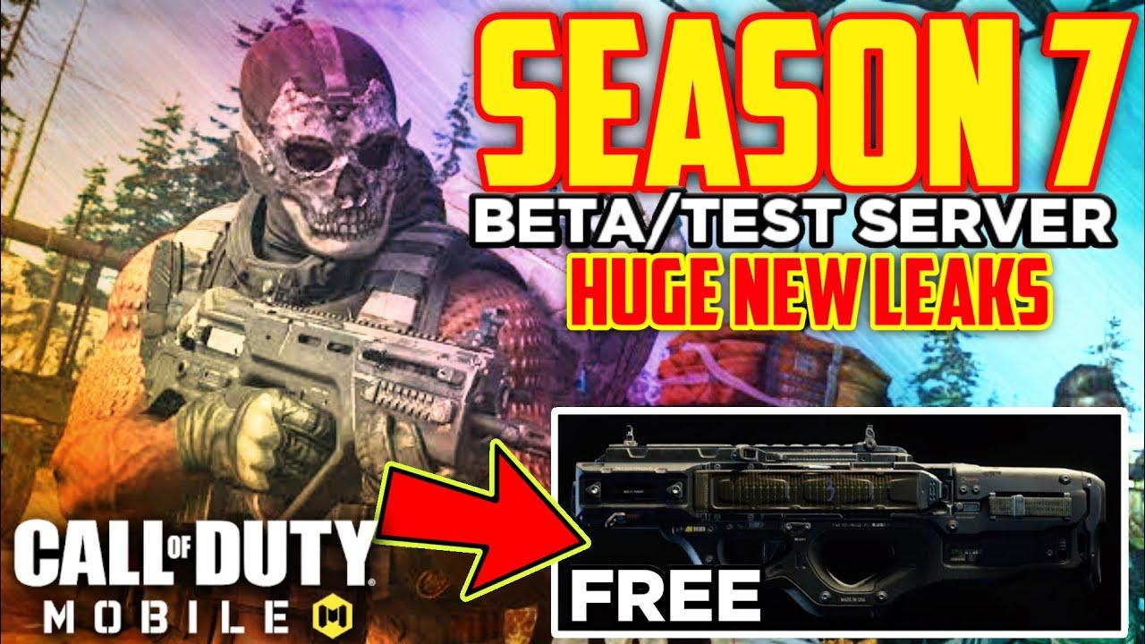 Season 7 Call Of Duty Mobile Test Server Beta Version Release Date