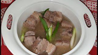 Sinigang Pork Belly - Panlasang Lowcarb with Kersteen