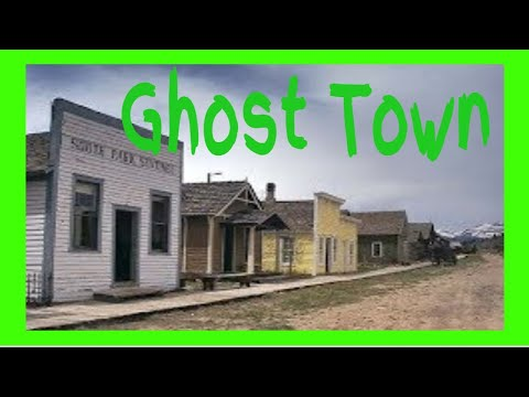 South Park Ghost Town - Exploring The South Park Ghost Town