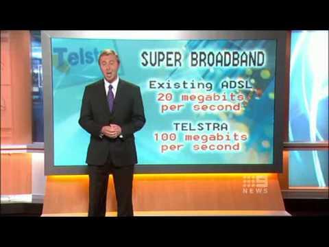 Telstra 100MB Cable, Docsis 3 - Super Broadband Network