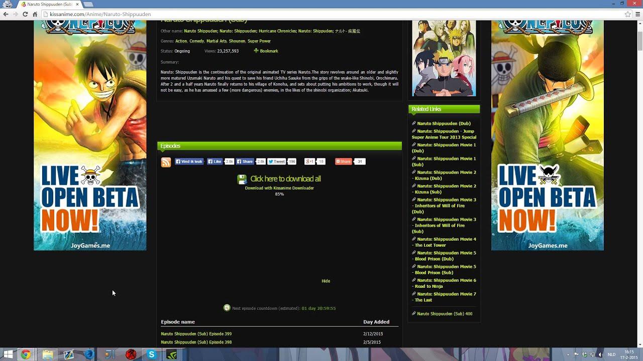 Kissanime Downloader - Beta