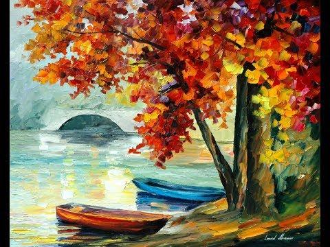 Landscape painting/Acrylic painting/ timelapse/