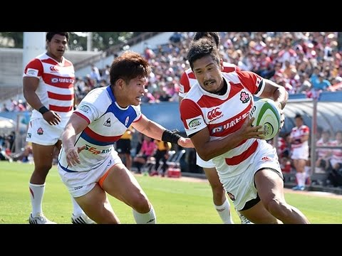 13 tries in 1 game! | Japan v Korea Highlights | Asia Rugby Championship