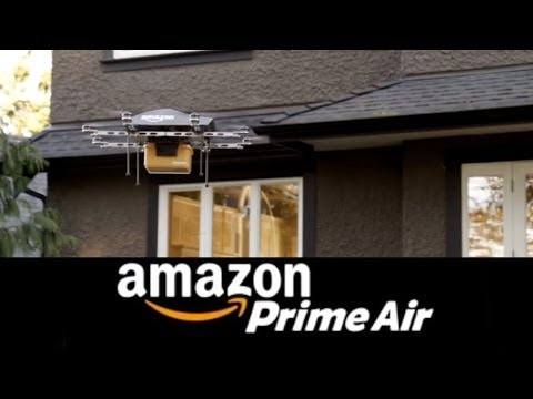 AMAZON PRIME AIR (Parody) - Octo-copter Lunch-Drones!