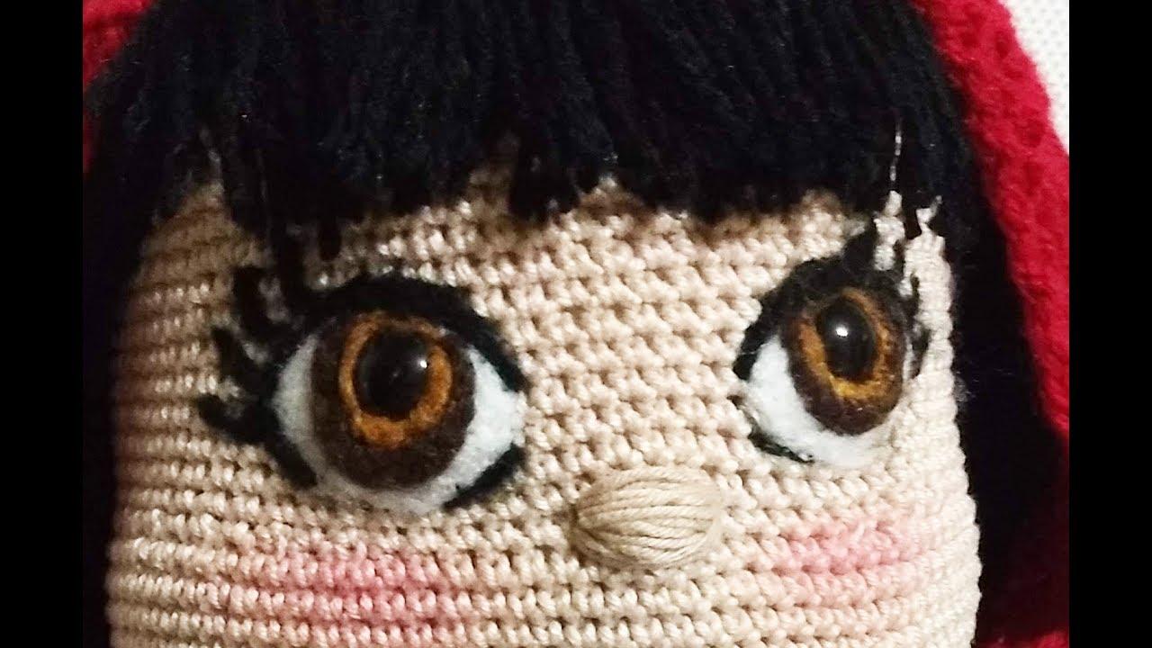 Olhos para Amigurumi Preto Tamanho 11 mm no Elo7 | Criativo e ... | 720x1280