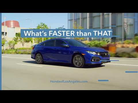 Honda Downtown Los Angeles Faster Than
