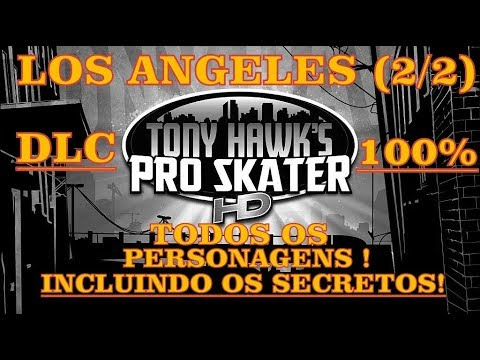 Tony Hawk Pro Skater REVERT PACK = LOS ANGELES STAGE = ! ALL CHARACTERS ! [ 2/2 ]