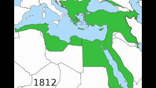 The Graphic Rise And Fall Of The Ottoman Empire